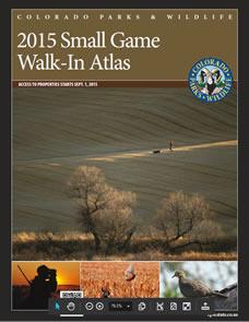 2015 Colorado Small Game Walk-In Atlas